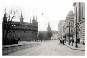 Kartka pocztowa – ulica Basztowa