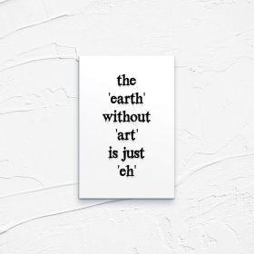 Kartka pocztowa – Earth