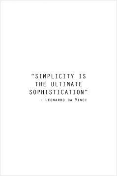 Kartka pocztowa – Simplicity