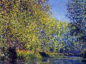 Claude Monet A Bend in the Epte Giverny