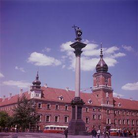 Kolumna Zygmunta na tle Zamku Królewskiego, Warszawa