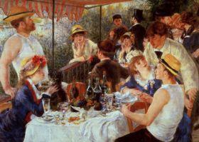 Śniadanie wioślarzy Auguste Renoir - reprodukcja
