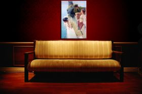 Lawrence Alma-Tadema A coign of vantage
