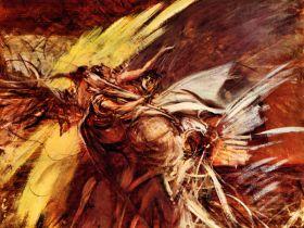 Anioł - Giovanni Boldini - reprodukcja