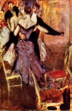 Balerina w Mauve - Giovanni Boldini - reprodukcja