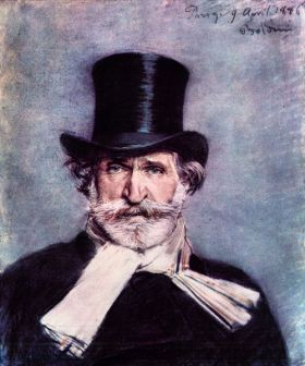 Guissepe Verde -  Giovanni Boldini - reprodukcja