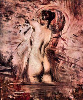 W pralni - Giovanni Boldini - reprodukcja