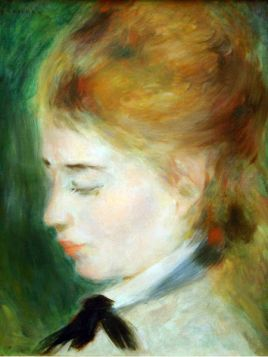 Aktorka Henriette Henriot - Pierre Auguste Renoir - reprodukcja