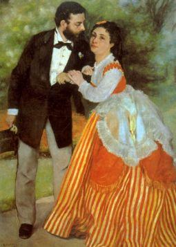 Alfred Sisley - Pierre Auguste Renoir - reprodukcja