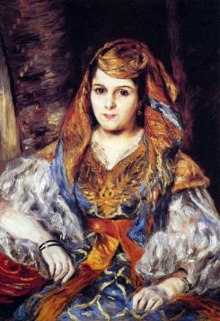 Algierka - Pierre Auguste Renoir - reprodukcja