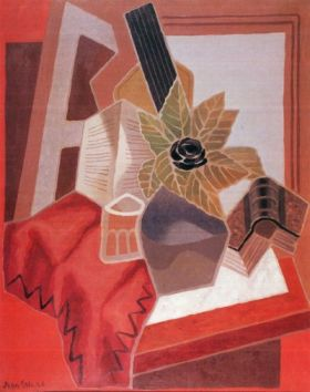Juan Gris Flowers on the table