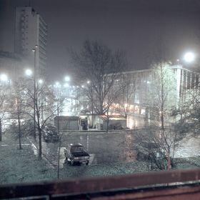 Krakowska ulica nocą