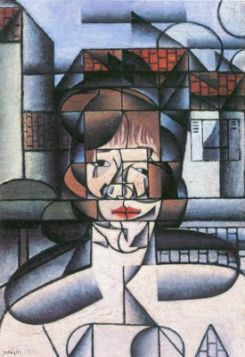 Juan Gris Portrait of Madame Germaine Raynal 1