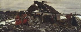 Józef Chełmoński – Przed karczmą