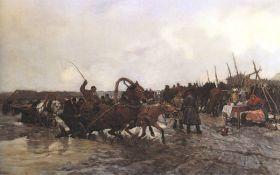 Józef Chełmoński – Targ