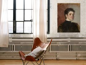 Olga Boznańska – autoportret
