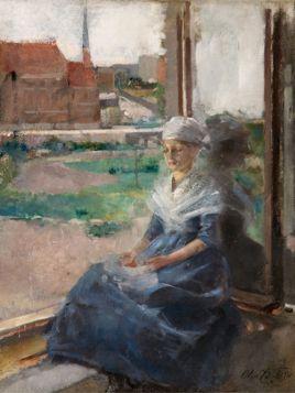 Bretonka Olga Boznańska - reprodukcja