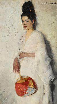 Olga Boznańska – Japonka