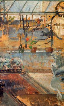 Olga Boznańska – wnętrze pracowni