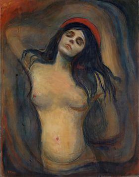 Madonna Edvard Munch - reprodukcja obrazu