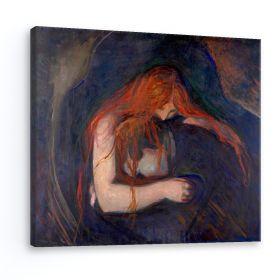 Wampir -  Edvard Munch - reprodukcja