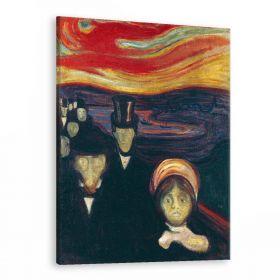 Niepokój (Anxiety) -  Edvard Munch - reprodukcja