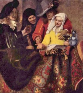 Johannes Vermeer Kupplerin