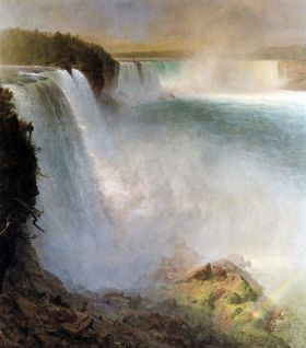 Frederick Edwin Church Niagara Falls, from the American side
