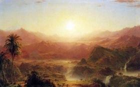Frederick Edwin Church The Andes of Ecuador