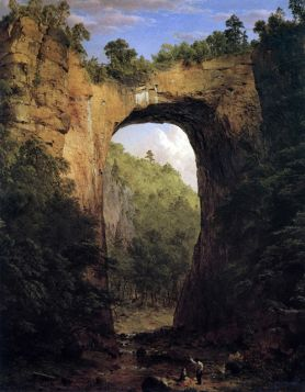 Frederick Edwin Church The Natural Bridge, Virginia