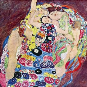 Dziewice - Gustav Klimt - reprodukcja