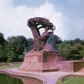 Kartka pocztowa – Pomnik Fryderyka Chopina