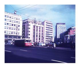 Kartka pocztowa – Warszawska ulica