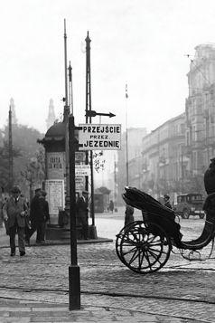 Kartka pocztowa – Skrzyżowanie ulicy Chłodnej i Żelaznej