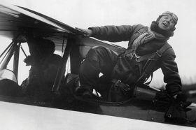 Kartka pocztowa – pilot samolotu