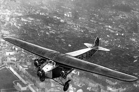 Kartka pocztowa – Samolot pasażerski