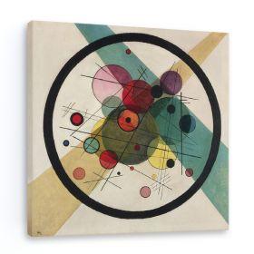 Koła w kręgu - Wassily Kandinsky – reprodukcja