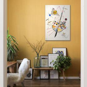 Delikatne napięcie Wassily Kandinsky – reprodukcja