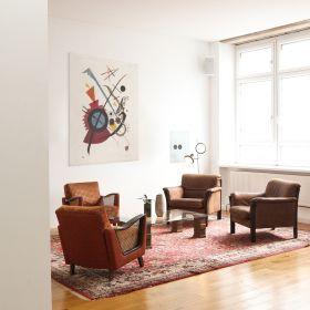Fioletowy - Wassily Kandinsky – reprodukcja