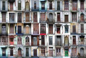 Abstrakcja - Drzwi