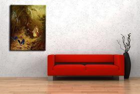 Łowca motyli - Carl Spitzweg - reprodukcja