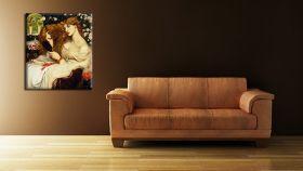 Lady Lilith Dante Gabriel Rossetti - reprodukcja