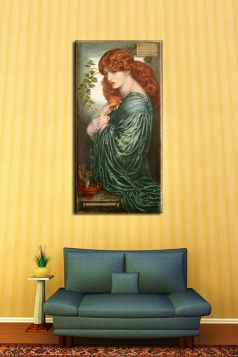 Proserpine - Dante Gabriel Rossetti - reprodukcja