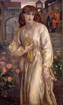 Powitanie Beatrice  - Dante Gabriel Rossetti - reprodukcja