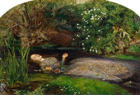 Ofelia John Everett Millais - reprodukcja