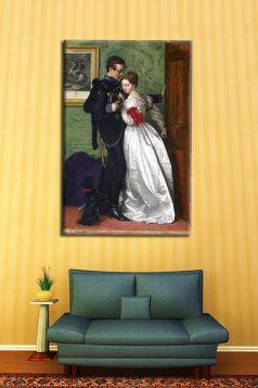 John Everett Millais – The Black Brunswicker