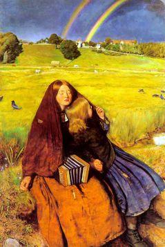 John Everett Millais – The Blind Girl