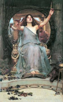 John William Waterhouse – Circe Offering the Cup to Odysseus