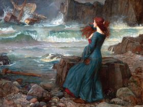 John William Waterhouse – Miranda the Tempest
