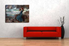 John William Waterhouse – Miranda the Tempest